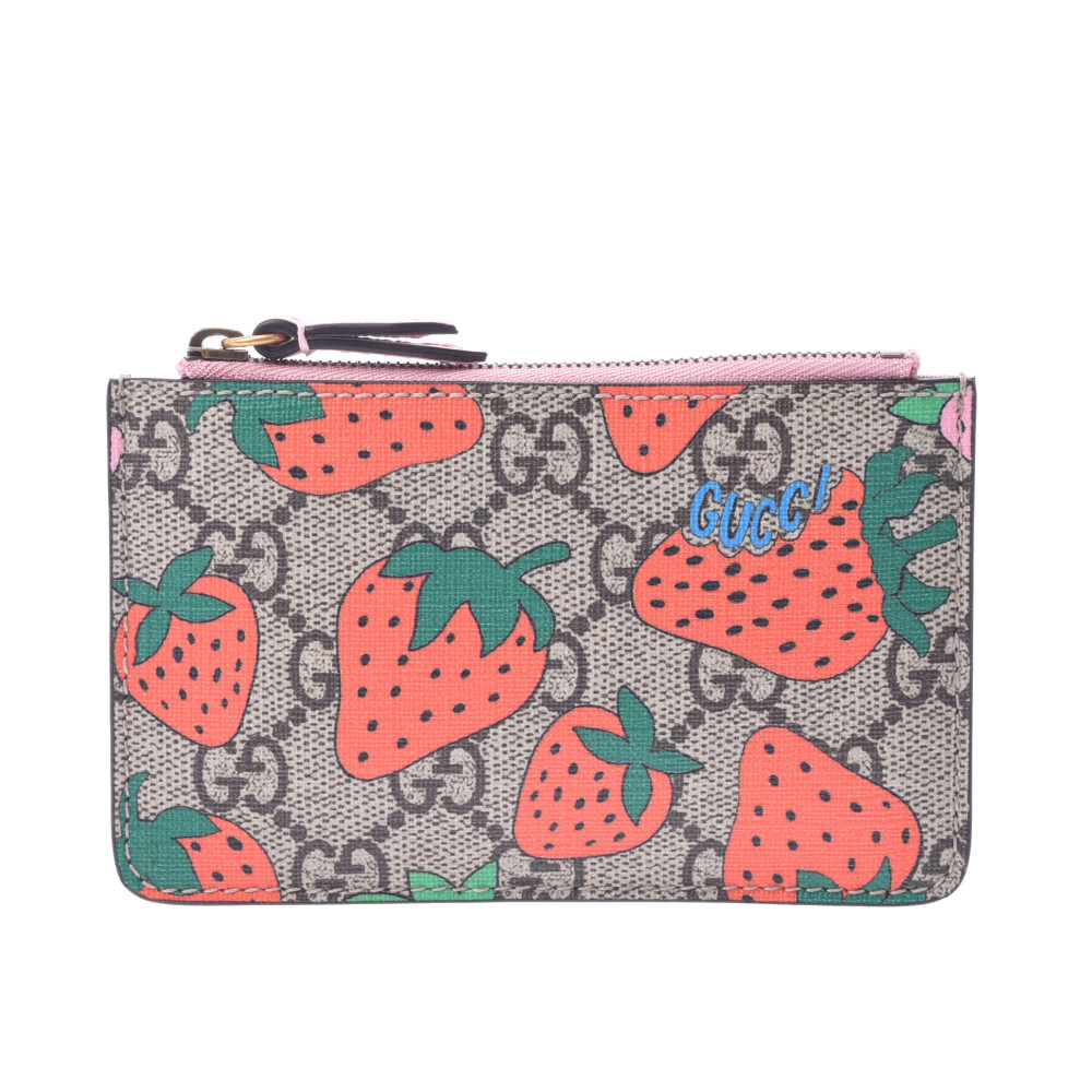 gucci strawberry coin purse