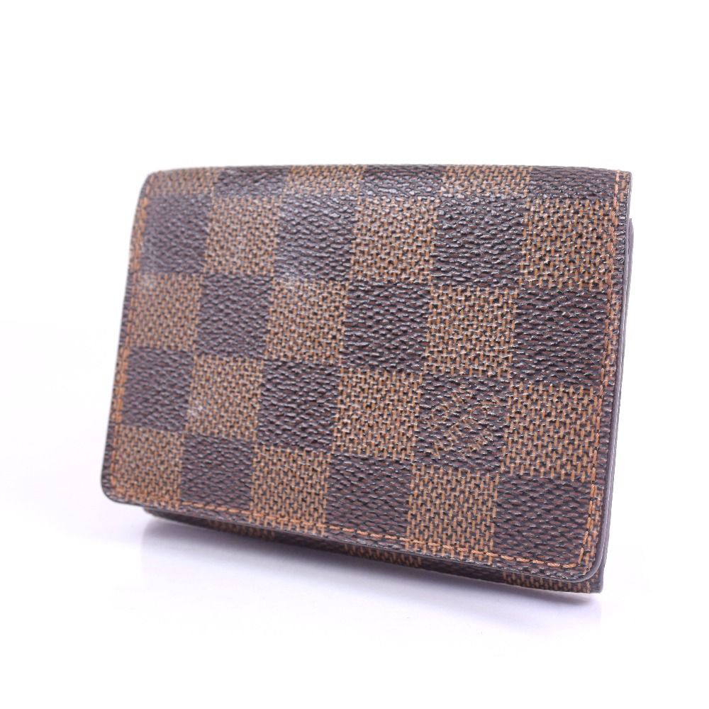 AUTHENTIC LOUIS VUITTON N 62920 Card Case Amvelop Cult de Wigi ...